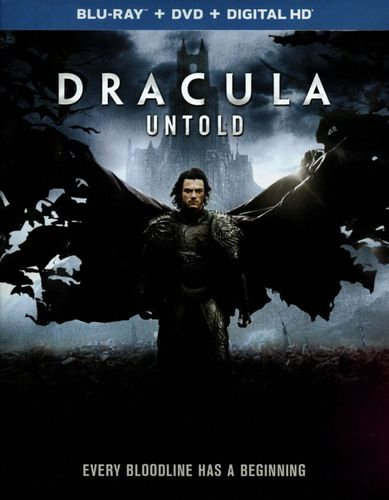 Dracula Untold [2 Discs] [Includes Digital Copy] [UltraViolet] [Blu-ray/DVD] [2014] 1526419