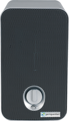 GermGuardian - 3-in-1 Tabletop UV-C Air Purifier - White/Black 1530067