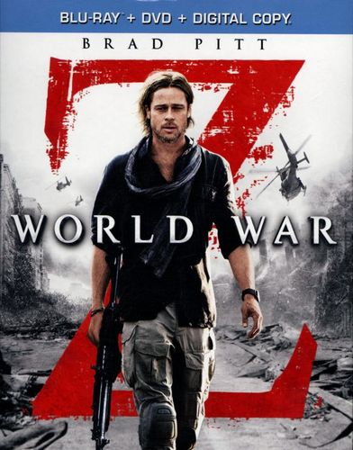 World War Z [Unrated] [2 Discs] [Includes Digital Copy] [Blu-ray/DVD] [2013] 1530386