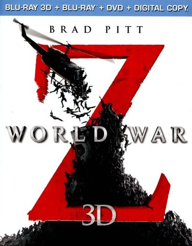 World War Z 3D [Unrated] [3 Discs] [Includes Digital Copy] [3D] [Blu-ray/DVD] [Blu-ray/Blu-ray 3D/DVD] [2013] 1530428