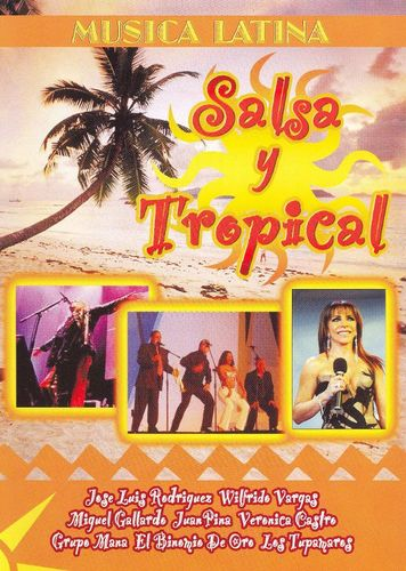Image of Salsa y Tropical [DVD]