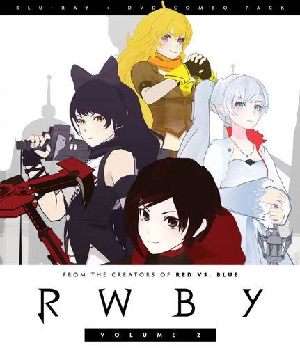 RWBY: Vol. 2 [2 Discs] [Blu-ray/DVD] 1535451