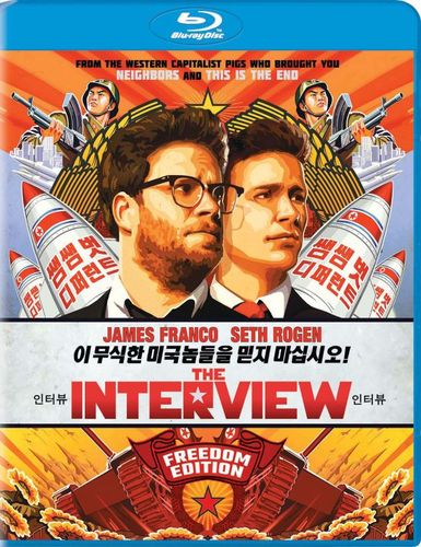 The Interview [Includes Digital Copy] [UltraViolet] [Blu-ray] [2014] 1536002