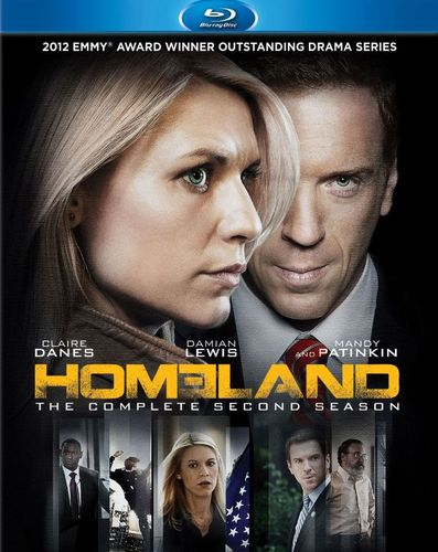 Homeland: The Complete Second Season [3 Discs] [Blu-ray] 1548092