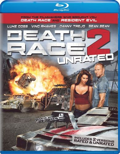 Death Race 2 [Rated/Unrated] [2 Discs] [Blu-ray/DVD] [2010] 1559468