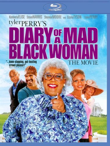 Tyler Perry's Diary of a Mad Black Woman: The Movie [Blu-ray] [2005] 1561093