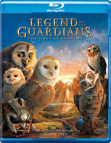 Legend of the Guardians: The Owls of Ga'Hoole [2 Discs] [Blu-ray/DVD] [2010] 1570313