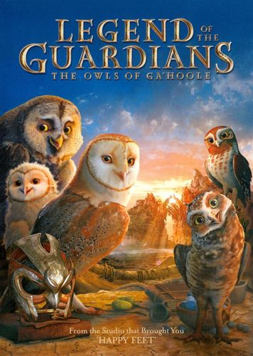 Legend of the Guardians: The Owls of Ga'Hoole [DVD] [2010] 1570322