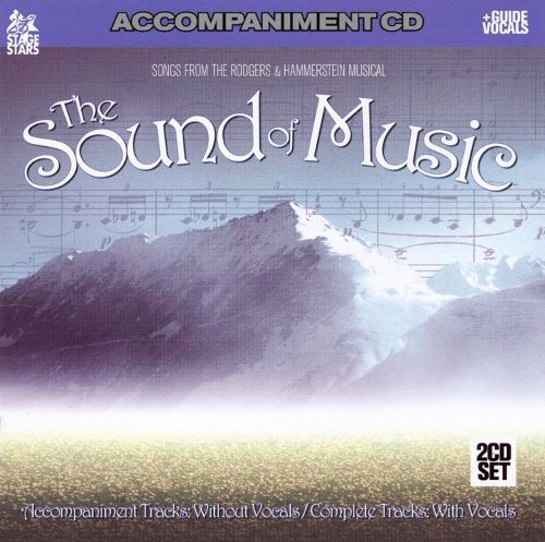 The Sound of Music [Accompaniment Disc] [CD] 15734476