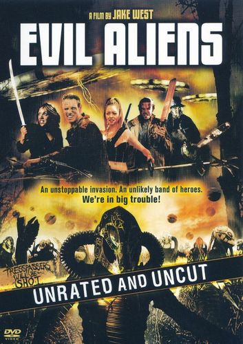 Evil Aliens [Unrated Version] [DVD] [2005] 15768901