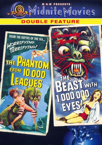 Phantom from 10,000 Leagues/The Beast with a Million Eyes [DVD] 15798763
