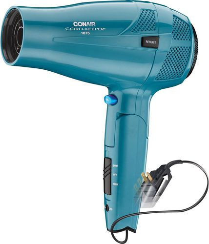 Conair - Cord-Keeper 1875W Ionic Conditioning Styler/Hair Dryer - Purple 1581481