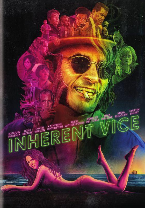 Inherent Vice [Includes Digital Copy] [UltraViolet] [DVD] [2014] 1584008