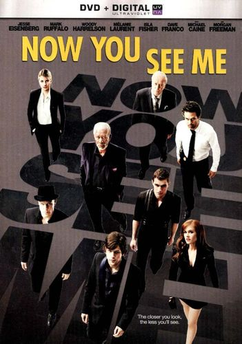 Now You See Me [Includes Digital Copy] [UltraViolet] [DVD] [2013] 1584991