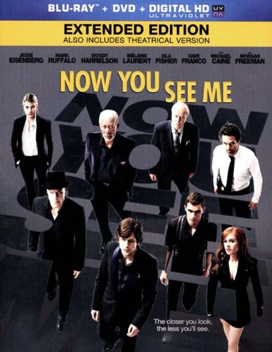 Now You See Me [2 Discs] [Blu-ray/DVD] [Includes Digital Copy] [UltraViolet] [2013] 1585008
