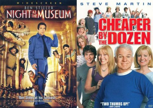 Night at the Museum/Cheaper by the Dozen [2 Discs] [DVD] 15850802