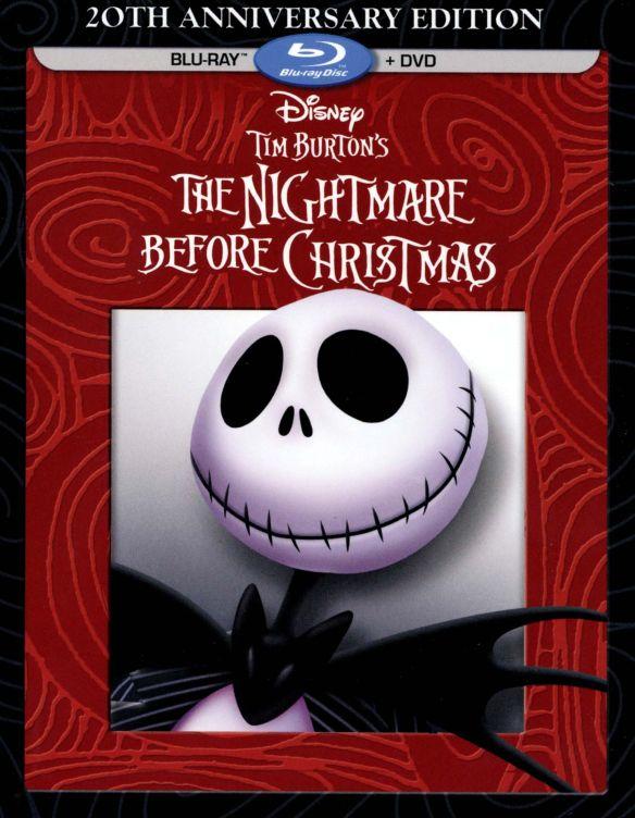 Tim Burton's The Nightmare Before Christmas [20th Anniversary Edition] [Blu-ray] [1993] 1588139