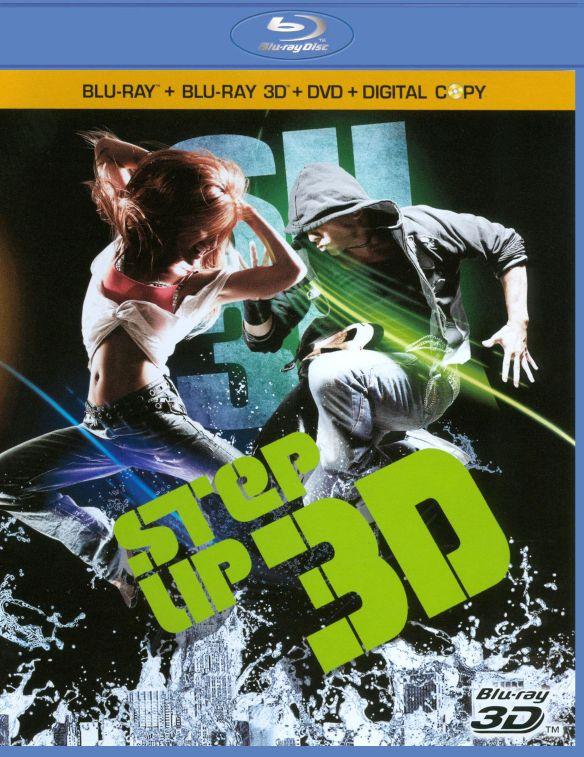Step Up 3D [3 Discs] [Includes Digital Copy] [3D] [Blu-ray/DVD] [Blu-ray/Blu-ray 3D/DVD] [2010] 1591154