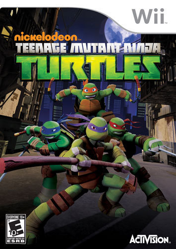 Teenage Mutant Ninja Turtles - Nintendo Wii 1595105