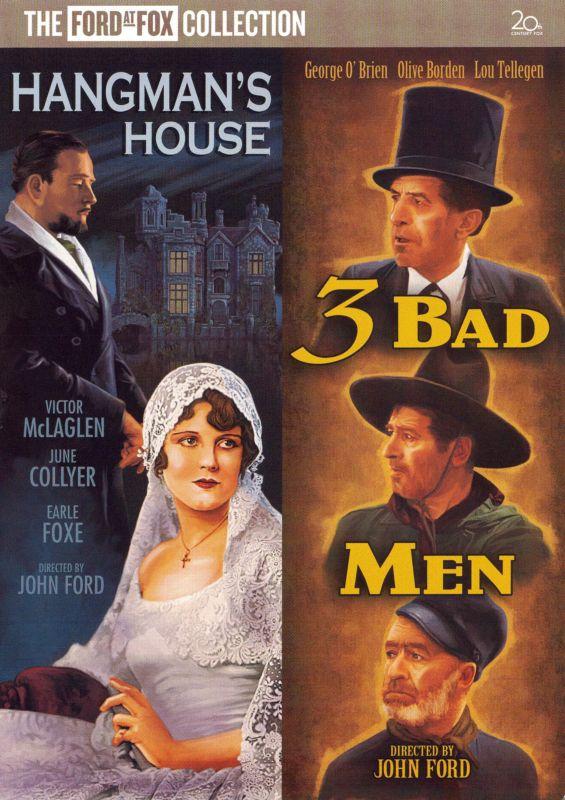Three Bad Men/Hangman's House [DVD] 16044843