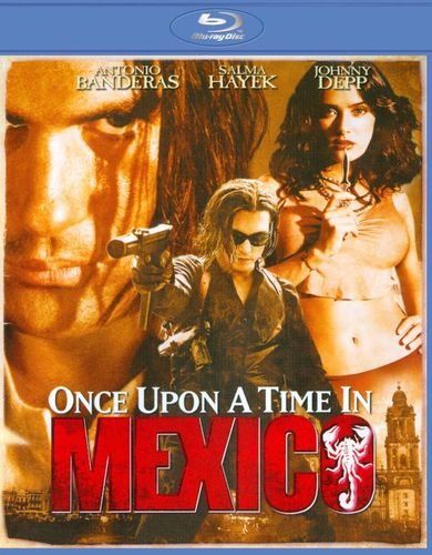 Once Upon a Time in Mexico [Blu-ray] [2003] 1606166