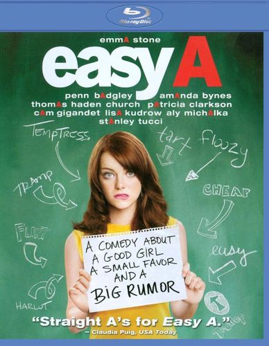 Easy A [Blu-ray] [2010] 1606175