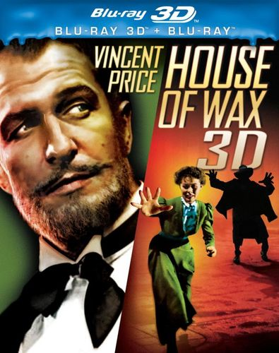 House of Wax [3D] [Blu-ray] [Blu-ray/Blu-ray 3D] [1953] 1611486