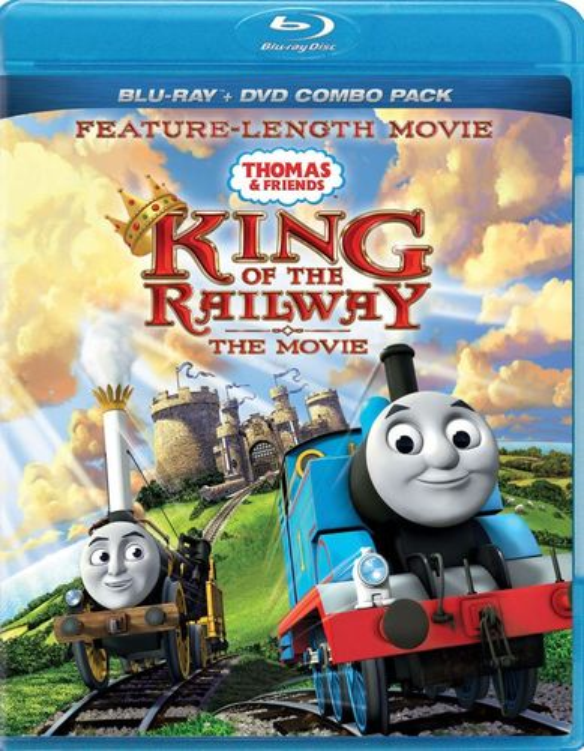 Thomas & Friends: King of the Railway - The Movie [Blu-ray] 1624408