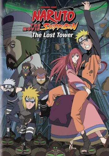 Naruto: Shippuden - The Movie: The Lost Tower [DVD] [2002] 1629412