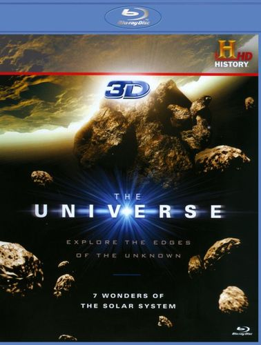 The Universe: 7 Wonders of the Solar System [3D] [Blu-ray] [Blu-ray/Blu-ray 3D] 1631038