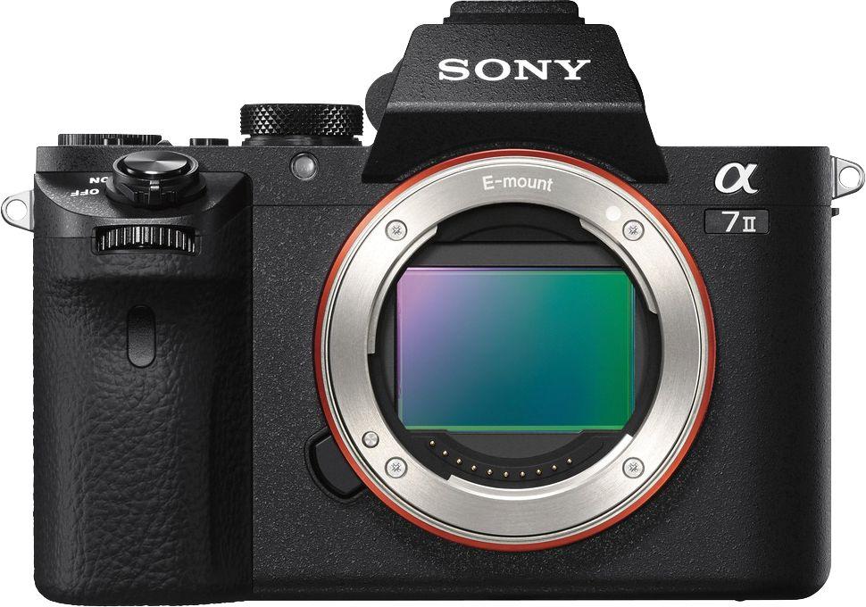 Sony - Alpha a7 II Full-Frame Mirrorless Camera (Body Only) - Black