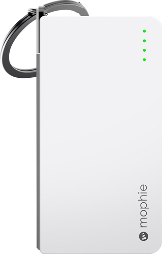 mophie - Juice Pack Reserve External Battery - White 1680821
