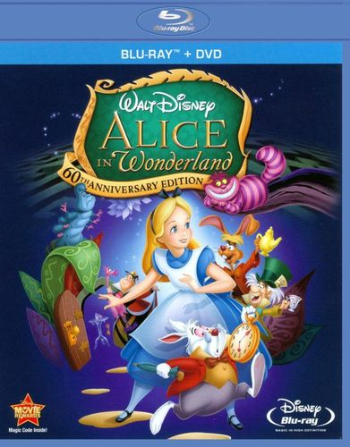Alice in Wonderland [60th Anniversary Edition] [2 Discs] [Blu-ray/DVD] [1951] 1687087