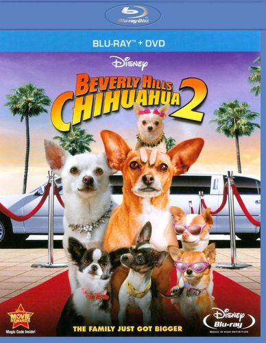 Beverly Hills Chihuahua 2 [2 Discs] [Blu-ray/DVD] [2011] 1687102