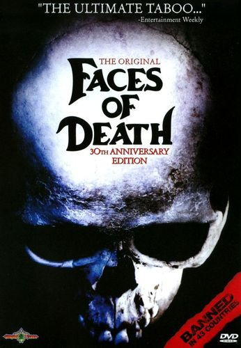 Faces of Death [30th Anniversary Edition] [DVD] [1978] 17058862