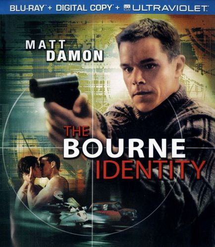 The Bourne Identity [Includes Digital Copy] [UltraViolet] [Blu-ray] [2002] 1709352