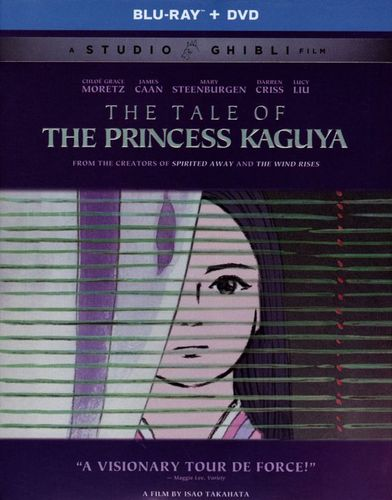 The Tale of the Princess Kaguya [3 Discs] [Blu-ray/DVD] [2013] 1722114
