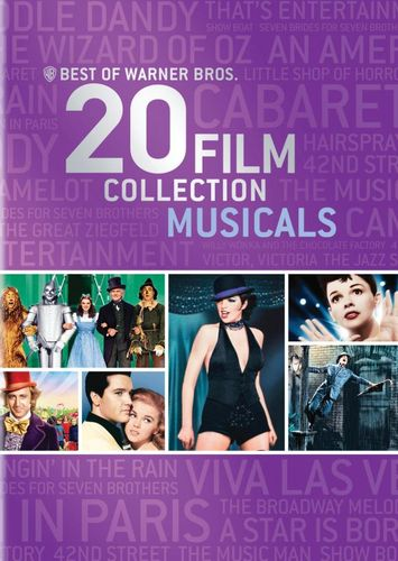 Best of Warner Bros.: 20 Film Collection - Musicals [21 Discs] [DVD] 1724227