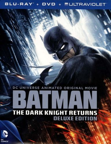 Batman: The Dark Knight Returns [Deluxe Edition] [2 Discs] [Blu-ray/DVD] 1725175
