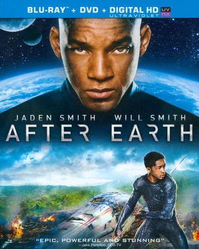 After Earth [2 Discs] [Includes Digital Copy] [UltraViolet] [Blu-ray/DVD] [2013] 1726096