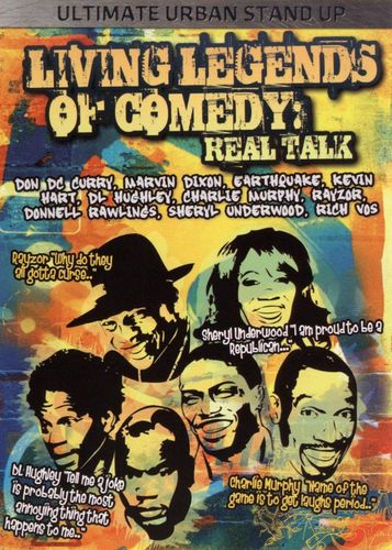 Living Legends of Comedy: Real Talk [DVD] [2008] 17266334
