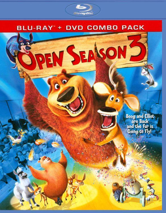 Open Season 3 [2 Discs] [Blu-ray/DVD] [2010] 1732188