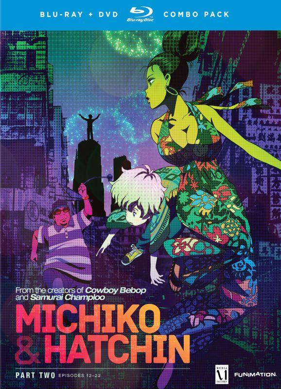 Michiko to Hatchin: Part Two [4 Discs] [Blu-ray/DVD] 1737274