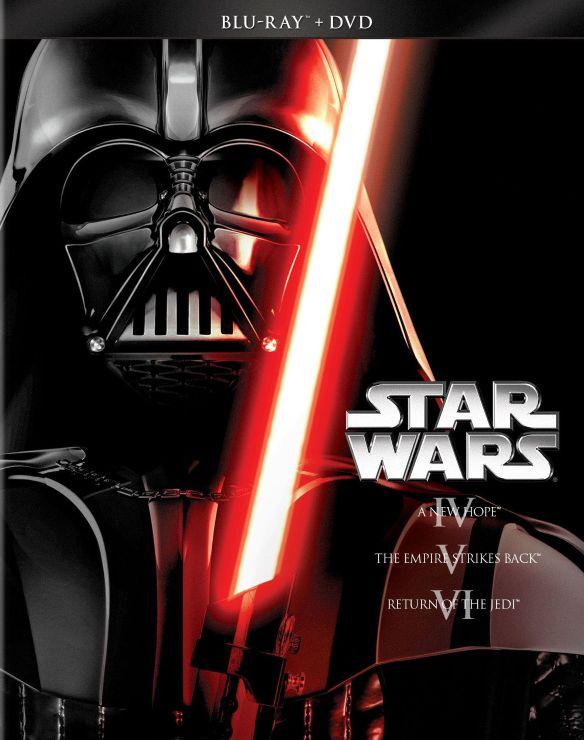 Star Wars Trilogy: Episodes IV-VI [6 Discs] [Blu-ray/DVD] 1737646