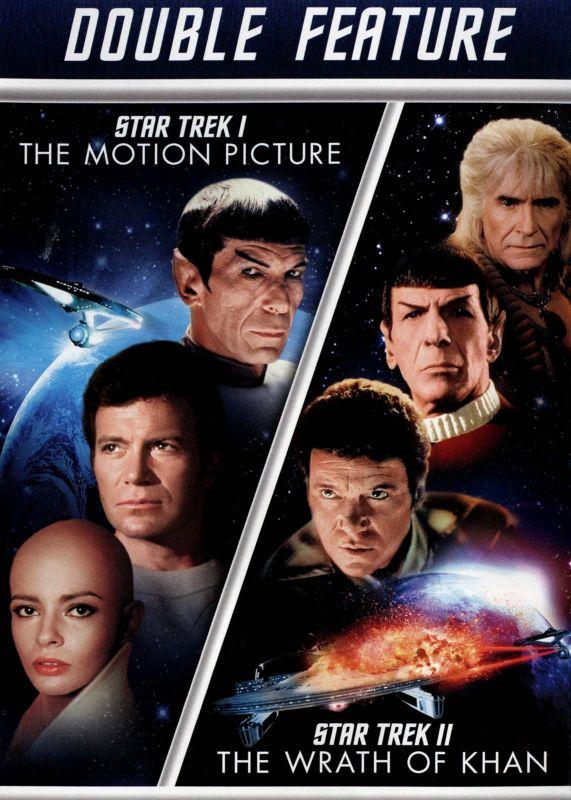 Star Trek: The Motion Picture/Star Trek II: The Wrath of Khan [2 Discs] [DVD] 1737891