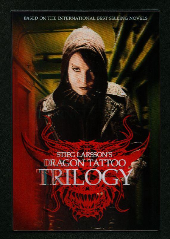Stieg Larsson's Dragon Tattoo Trilogy [4 Discs] [DVD] 1738173