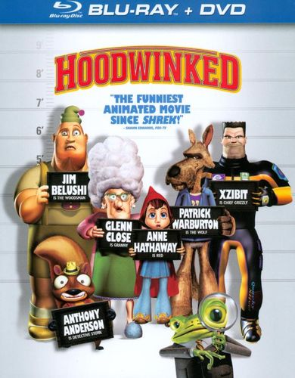 Hoodwinked [2 Discs] [Blu-ray/DVD] [2006] 1738207