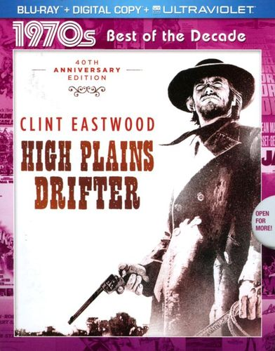 High Plains Drifter [Includes Digital Copy] [UltraViolet] [Blu-ray] [1973] 1738282