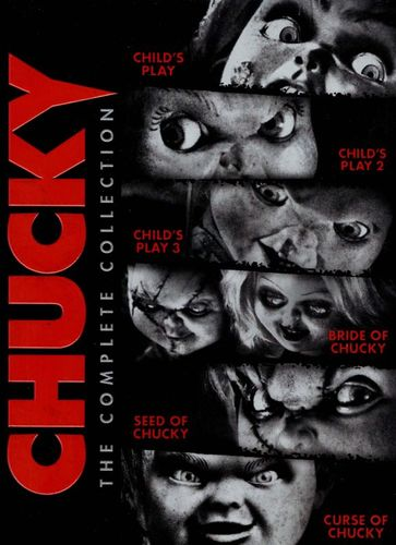 Chucky: The Complete Collection [Includes Digital Copy] [UltraViolet] [6 Discs] [DVD] 1739167
