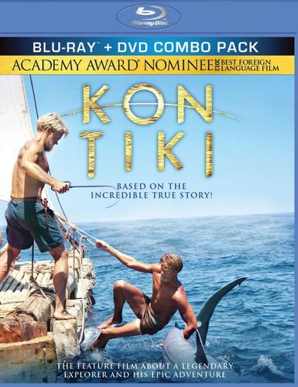 Kon-Tiki [2 Discs] [Blu-ray/DVD] [2012] 1743123